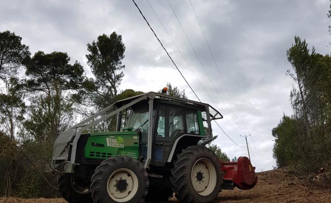 Création de sentiers et layons forestiers suivants les lignes ERDF