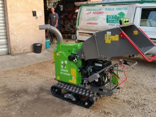 Broyeur de végétaux et déchets verts dans le Var - Elagage